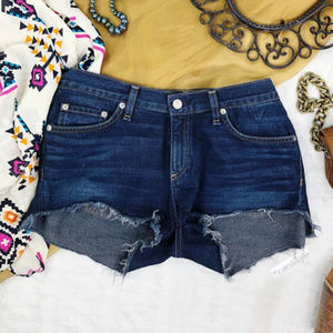 RAG & BONE Cut Off Jean Shorts Size 29
